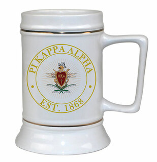 Pi Kappa Alpha Ceramic Stein