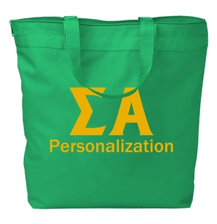 Sigma Alpha Design Your Own Tote Bag