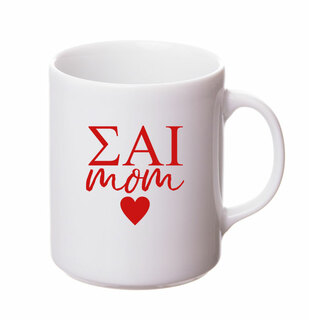 Sigma Alpha Iota White Personalized Coffee Mug