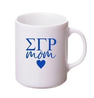 Sigma Gamma Rho White Personalized Coffee Mug