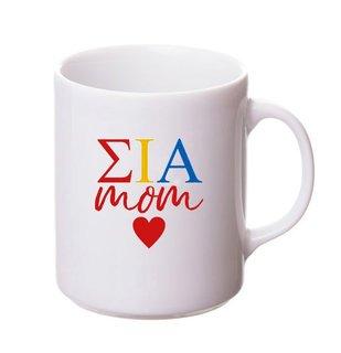 Sigma Iota Alpha White Personalized Coffee Mug