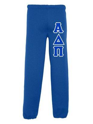 Alpha Delta Pi Lettered Sweatpants