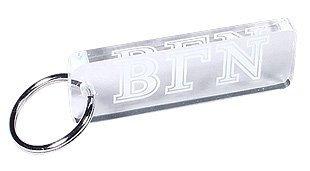 Acrylic Greek Letter Key Chain