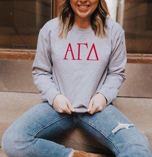 Alpha Gamma Delta University Crewneck Sweatshirt