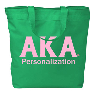 Alpha Kappa Alpha Design Your Own Tote Bag