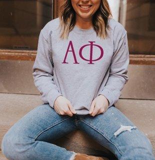 Alpha Phi University Crewneck Sweatshirt