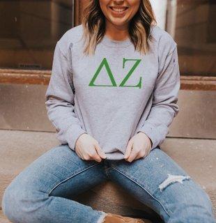 Delta Zeta University Crewneck Sweatshirts