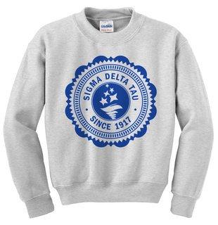 Sigma Delta Tau Seal Crewneck Sweatshirt