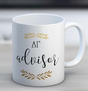 Delta Gamma Advisor Coffee Mug