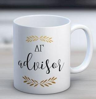 Delta Gamma Advisor Coffee Mug