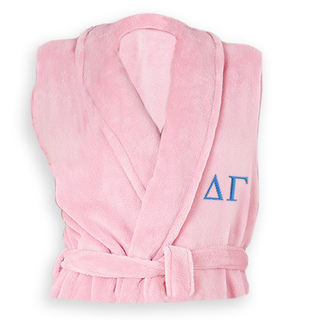 Delta Gamma Greek Letter Bathrobe