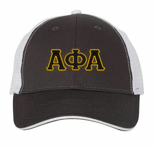 56a45d9b267 Alpha Phi Alpha Double Greek Trucker Cap
