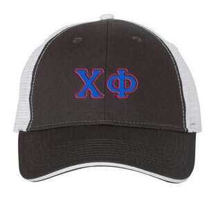 Chi Phi Double Greek Trucker Cap