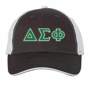 Delta Sigma Phi Double Greek Trucker Cap
