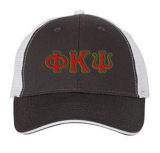 Phi Kappa Psi Double Greek Trucker Cap