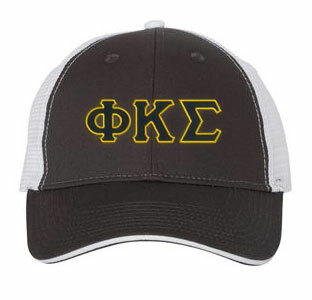 Phi Kappa Sigma Double Greek Trucker Cap