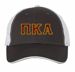 Pi Kappa Alpha Double Greek Trucker Cap