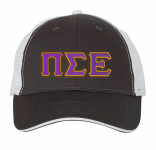Pi Sigma Epsilon Double Greek Trucker Cap