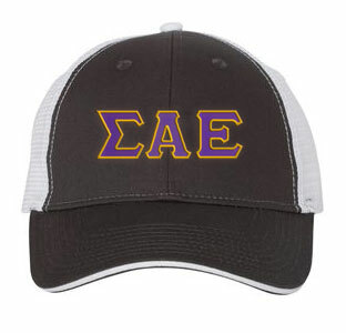 Sigma Alpha Epsilon Double Greek Trucker Cap