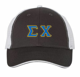 Sigma Chi Double Greek Trucker Cap