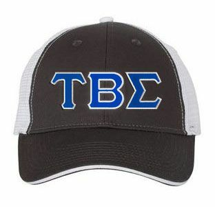 Tau Beta Sigma Double Greek Trucker Cap