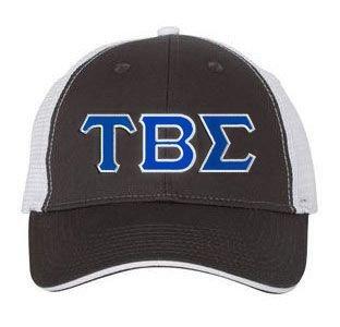 Tau Beta Sigma Double Greek Trucker Cap