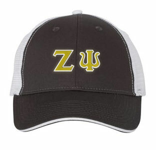 Zeta Psi Double Greek Trucker Cap