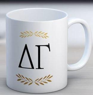 Delta Gamma Letter Coffee Mug