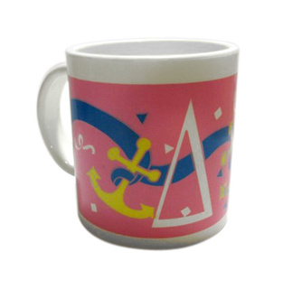 Delta Gamma Plastic Coffee Mugs