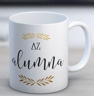Delta Zeta Alumna Coffee Mug