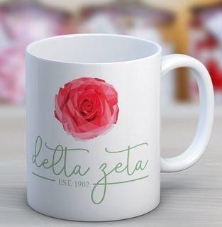 Delta Zeta Established Coffee Mug