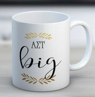 Alpha Sigma Tau Big Coffee Mug