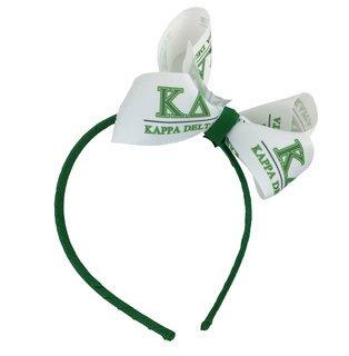 Kappa Delta Headband with Bow