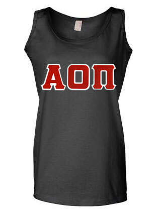 DISCOUNT- Ladies Lettered Tank Top