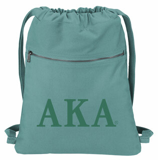 Alpha Kappa Alpha Beach Wash Cinch Pack