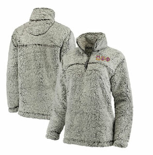 Omega Psi Phi Sherpa Pullover