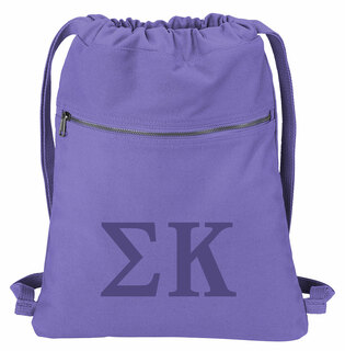 Sigma Kappa Beach Wash Cinch Pack