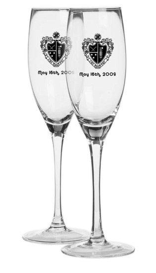Design Your Own Custom Flute Glasses