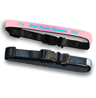 Phi Beta Kappa Pet Collar