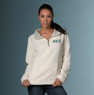 Phi Sigma Sigma Sherpa Pullover