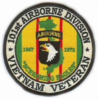 101st Airborne Division Vietnam Veteran Patch