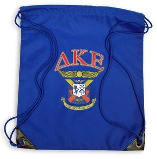 Delta Kappa Epsilon Crest - Shield Cinch Sack