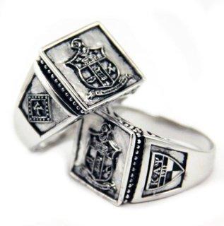 Kappa Alpha Psi Sterling Silver Ring