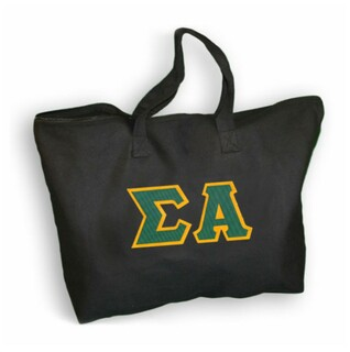 DISCOUNT- Sigma Alpha Lettered Tote Bag