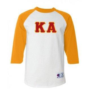 DISCOUNT- Kappa Alpha Lettered Raglan T-Shirt