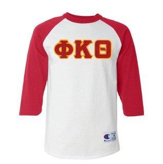 DISCOUNT- Phi Kappa Theta Lettered Raglan T-Shirt