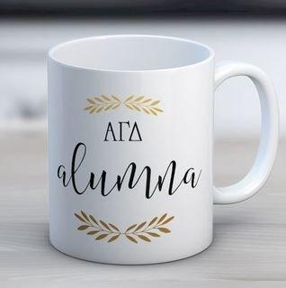 Alpha Gamma Delta Alumna Coffee Mug