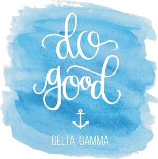 Delta Gamma Do Good Decal