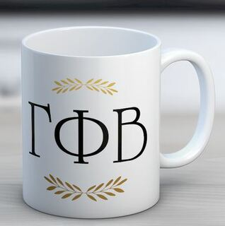 Gamma Phi Beta Letter Coffee Mug