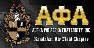 Alpha Phi Alpha Vinyl Banner